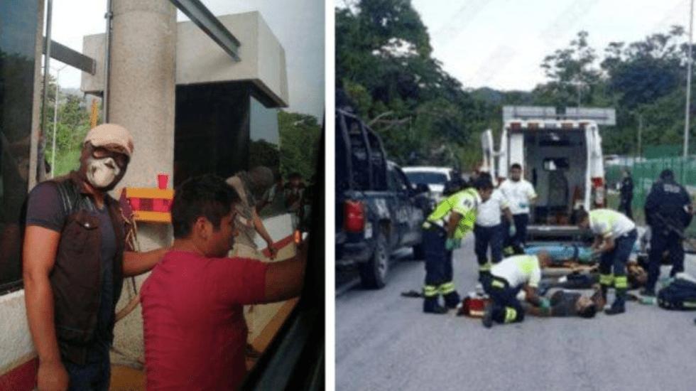 Tres muertos y nueve heridos tras enfrentamiento en caseta de cobro Malpasito - Foto de Radio Fórmula