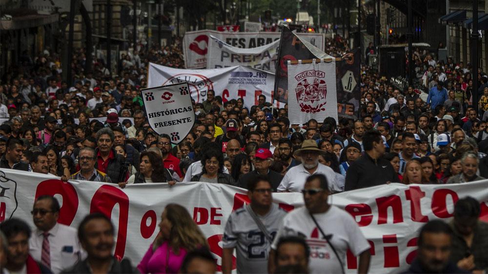 Prevén caos en la Ciudad de México por manifestaciones - manifestaciones