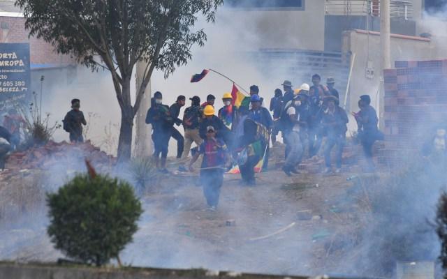 Frustración agravaría divorcio entre políticos y ciudadanía en América Latina: Zovatto - Manifestantes en Bolivia. Foto de EFE