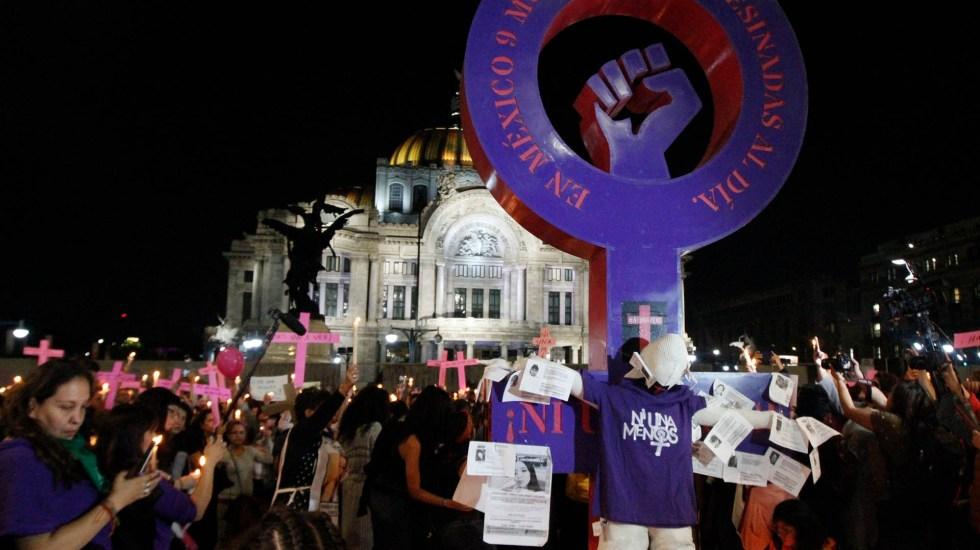 Agresiones y destrozos empañan marcha feminista en la Ciudad de México - Marcha feminista Ciudad de México 8