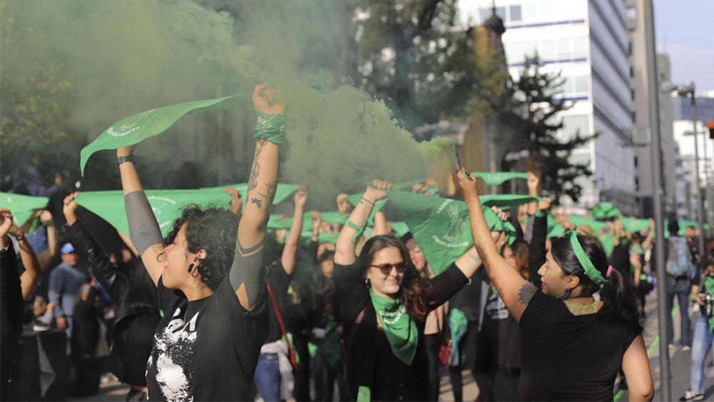 Las marchas de este lunes en la Ciudad de México - marcha feminista