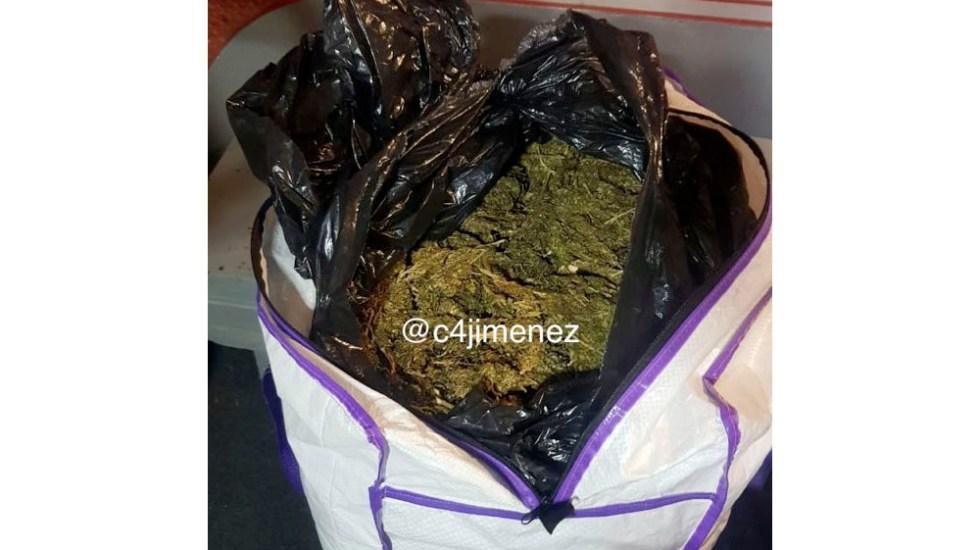Encuentran 200 kilos de mariguana en hotel de Venustiano Carranza - mariguana venustiano carranza