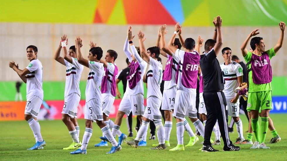 México pasa a semifinales de la Sub 17 tras imponerse a Corea del Sur - México Sub 17 Corea del sur partido