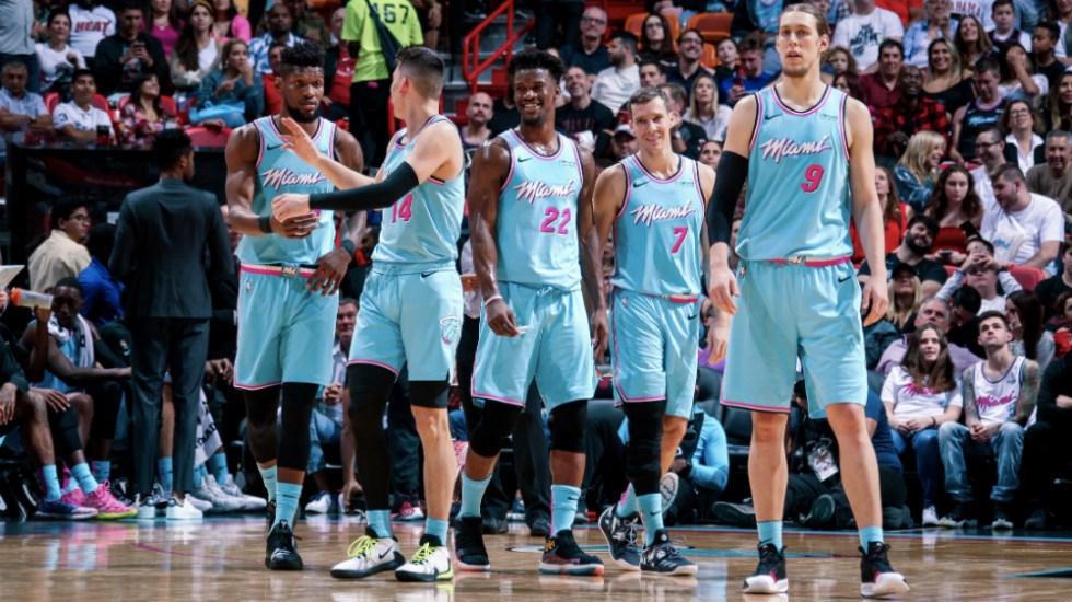 Heat de Miami hunde a Warriors de Golden State - Foto de @MiamiHEAT