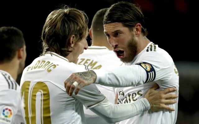 Plantilla del Real Madrid se rebaja sus retribuciones entre el 10 y 20% - Modric Ramos Real Madrid