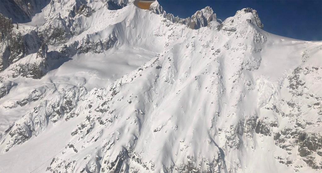Avalancha en Mont Blanc deja a dos esquiadores muertos - Mont Blanc