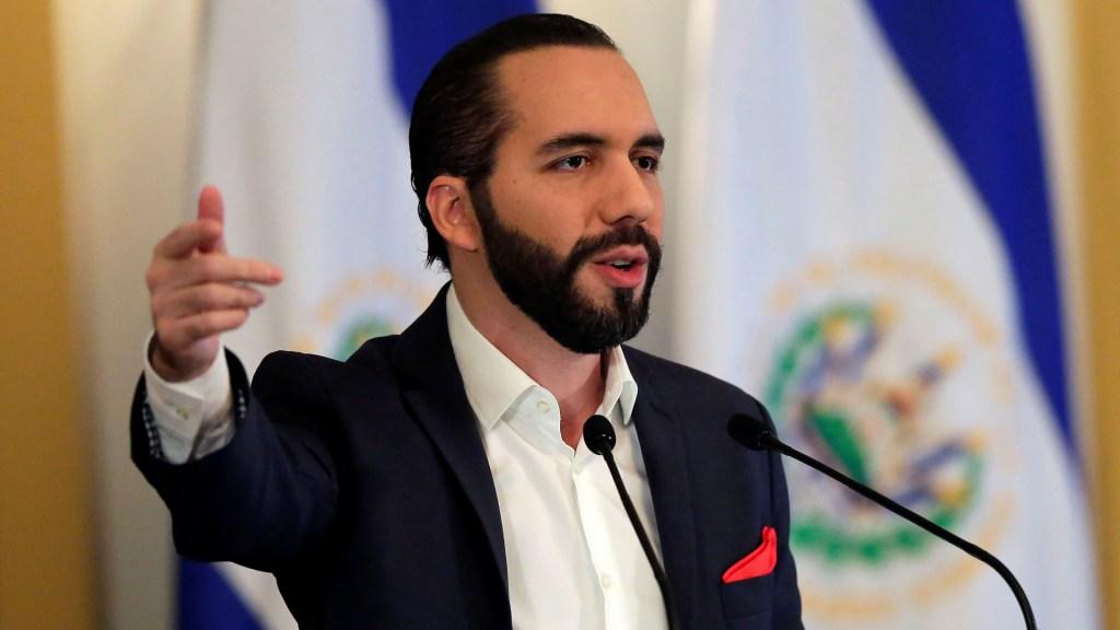 Bukele decreta emergencia en cárceles de El Salvador tras asesinato de soldado - Nayib Bukele, presidente de El Salvador. Foto de EFE