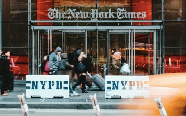 """Condado en Florida cancela suscripción a The New York Times por """"fake news"""" - The New York Times"""