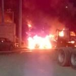 Disparos y quema de vehículos en Nuevo Laredo, Tamaulipas