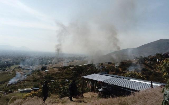 Investigan enfrentamiento por tierras en Oaxaca - Foto de @RIDNoticias