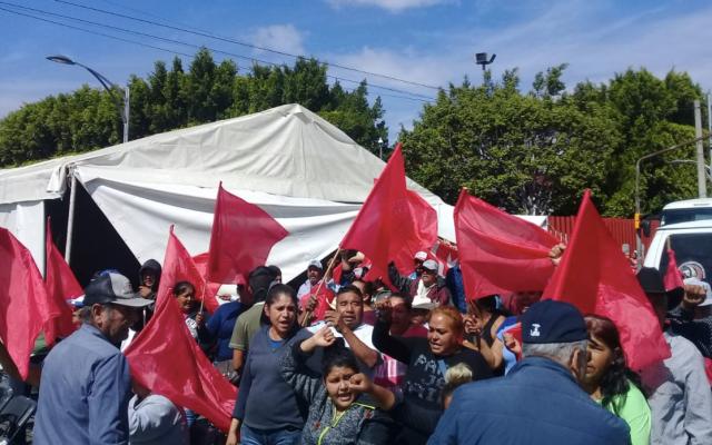 Diputados logran acuerdo con campesinos para retiro parcial del bloqueo en San Lázaro - Foto de @antorchihua