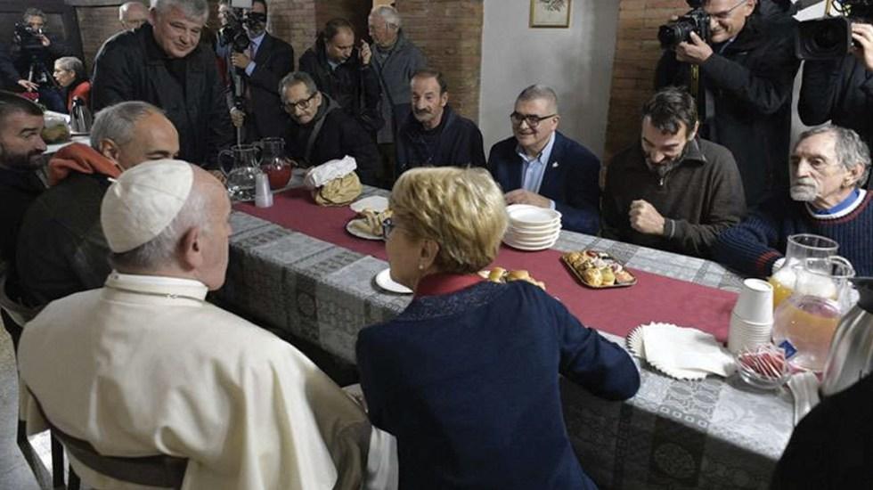 Papa Francisco abre centro para personas sin hogar en el Vaticano - Foto de Vatican Media