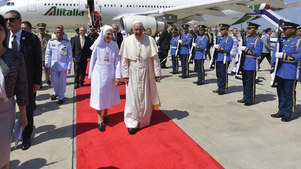 Papa Francisco inicia visita a Tailandia - Foto de EFE