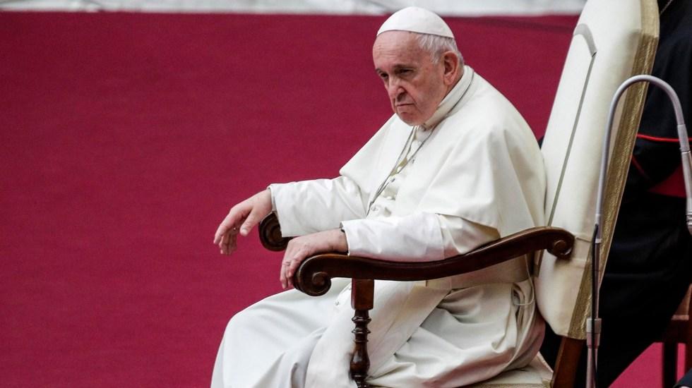 Papa Francisco se ausentará de ejercicios espirituales de Cuaresma por resfriado - Papa Francisco en el Vaticano. Foto de EFE