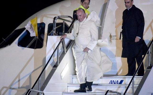 Papa Francisco llega a Japón en primera visita de un pontífice en 38 años - Papa Francisco llega a Japón en primera visita de un pontífice en 38 años
