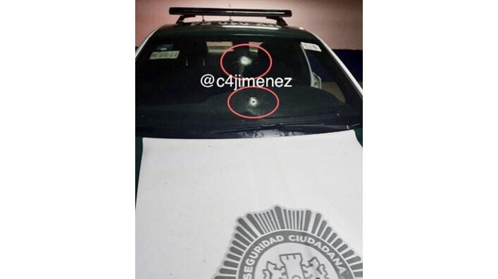 Detienen a venezolanos que colocaban trampas en cajeros automáticos - Patrulla disparos balazos ataque bancos