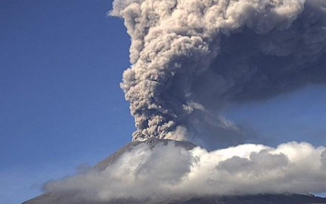 Alertan por dos exhalaciones del Popocatépetl esta mañana - Popocatépetl