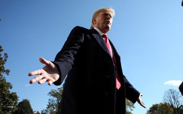 Casa Blanca celebra exoneración de Trump en juicio político - Presidente Donald Trump. Foto de EFE