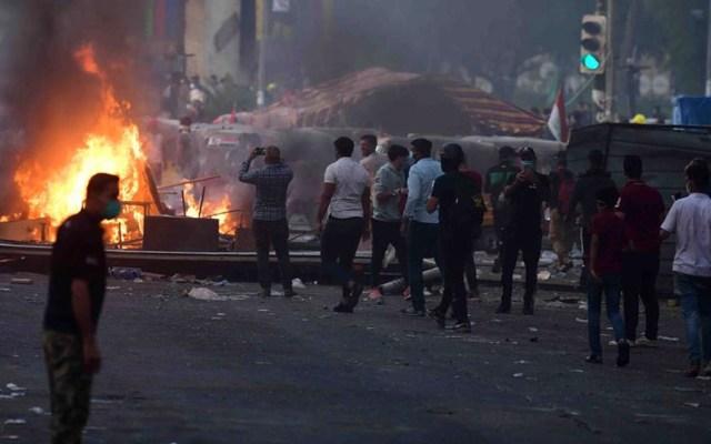 Suman al menos 312 muertos por protestas en Irak - protestas irak