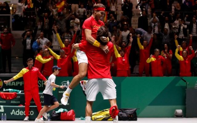 Nadal y López clasifican a España a la final de la Copa Davis - Foto de EFE
