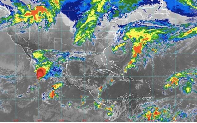 Prevén lluvias en el norte de México por remanentes de Raymond - Raymond remanentes México 2