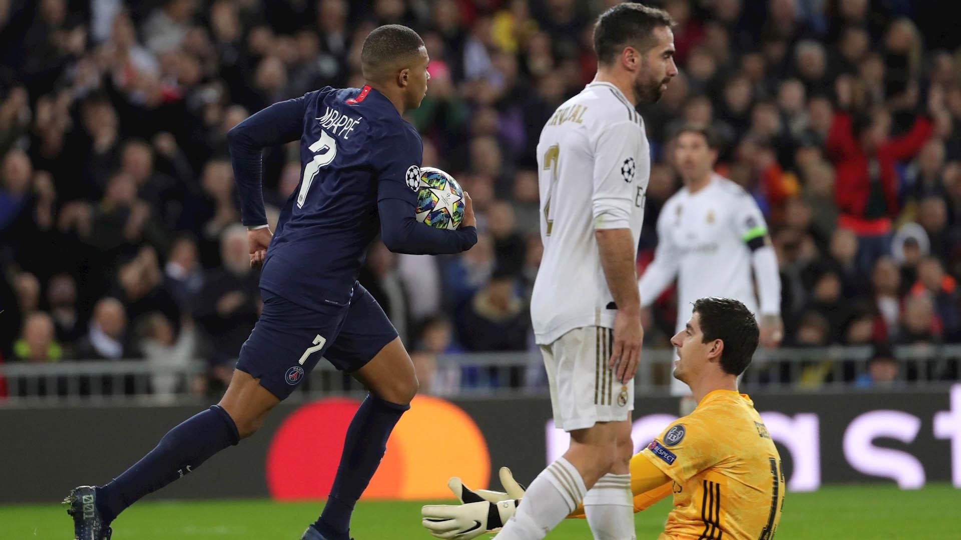 Real Madrid Champions PSG 2
