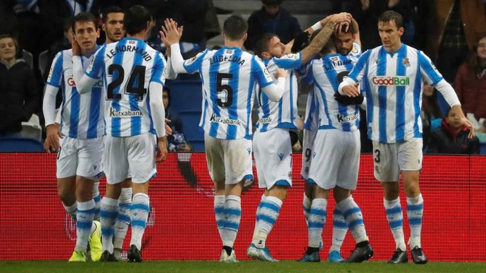Real Sociedad arrebata cuarta plaza al Atlético tras vencer al Eibar - Real Sociedad arrebata cuarta plaza al Atlético tras vencer al Eibar
