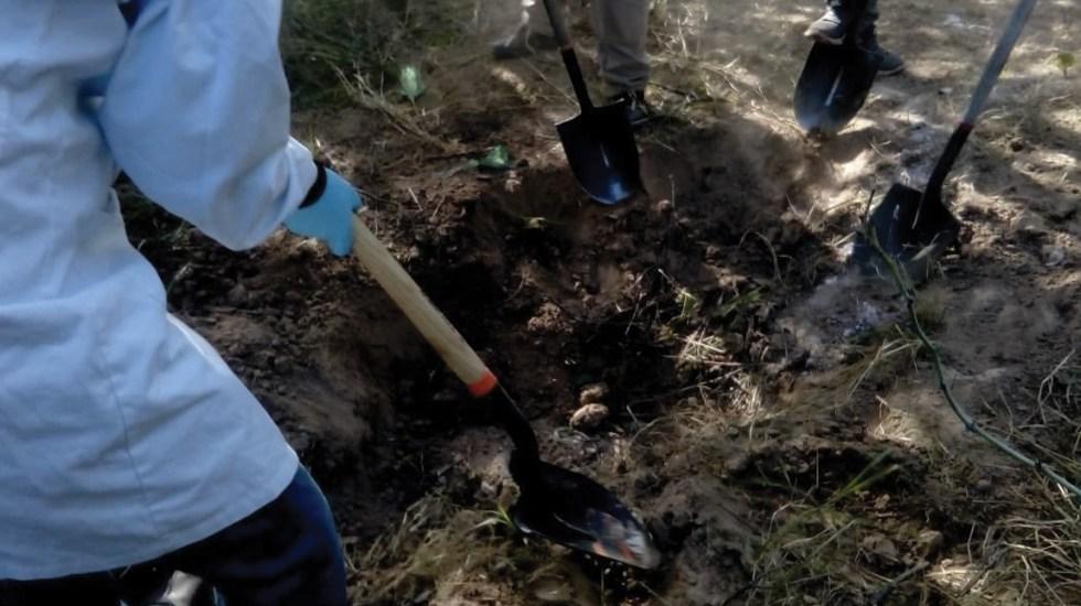 Localizan ropa, zapatos, restos óseos y un cráneo en Sonora - Foto de Fiscalía Sonora