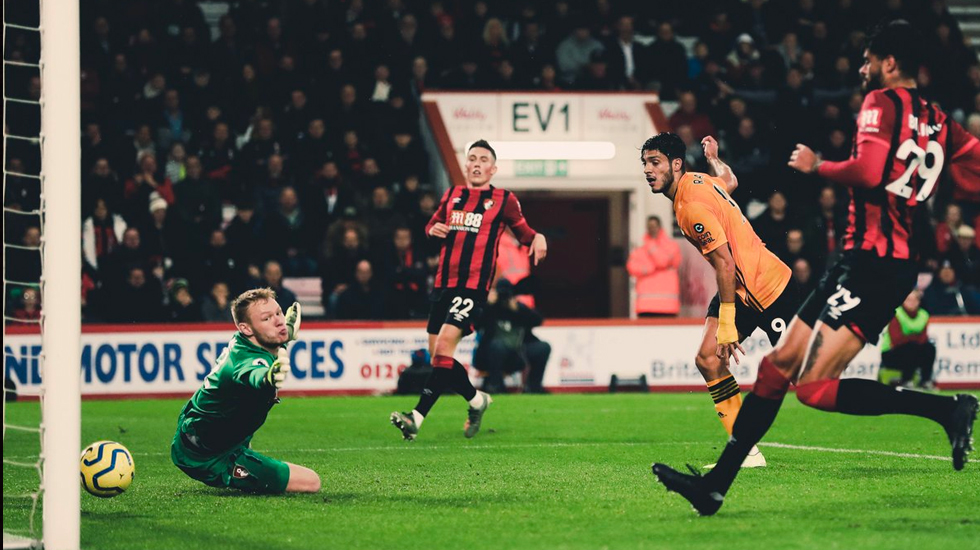 #Video Gol de Raúl Jiménez contra el Bournemouth