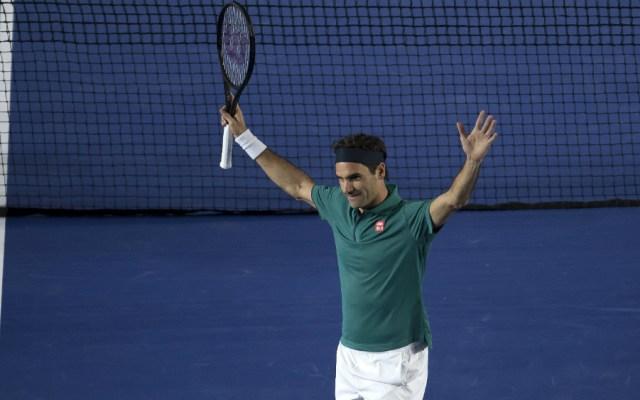 Roger Federer vence a Alexander Zverev en la Plaza México - Foto de Mexsport