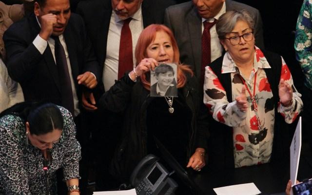 Rosario Piedra mintió al Senado al no informar que era consejera de Morena: Kuri - Rosario Piedra Ibarra CNDH Senado