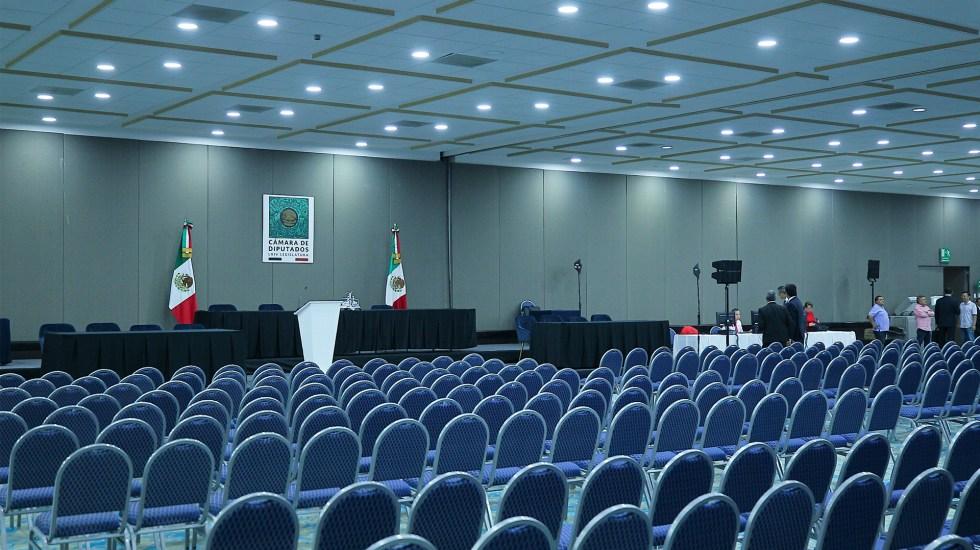 Diputados discuten Presupuesto de Egresos 2020 en sede alterna - sede alterna diputados