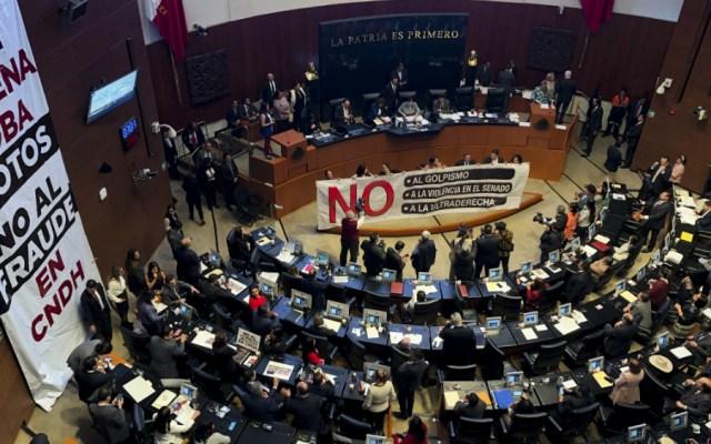 Senado no repetirá procedimiento para elegir a titular de CNDH - Foto de Notimex