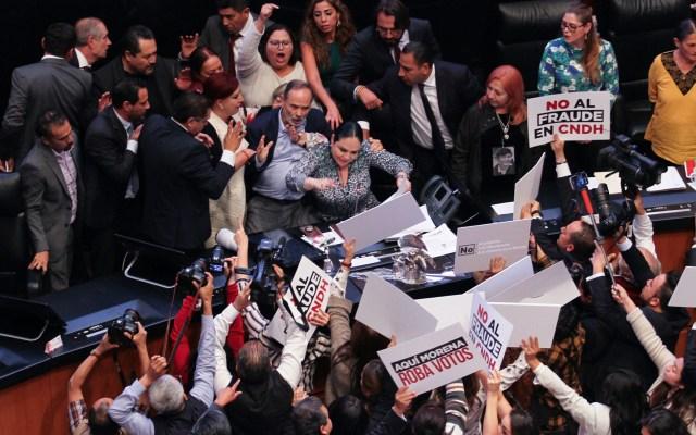 Marko Cortés lamenta nombramiento de Rosario Piedra al frente de la CNDH - rosario piedra