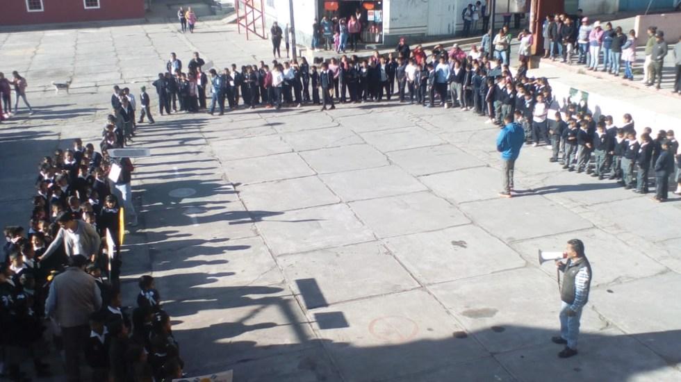Realizan simulacro por contingencia volcánica en Puebla - Foto de Protección Civil Puebla