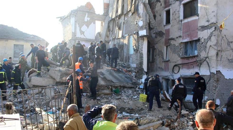 Sismo de magnitud 6.4 deja al menos 15 muertos en Albania - sismo Albania