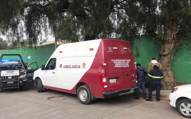Asesinan a dos mujeres en Ecatepec - Sitio donde hallaron a dos mujeres muertas en Ecatepec. Foto de @luismiguelbaraa