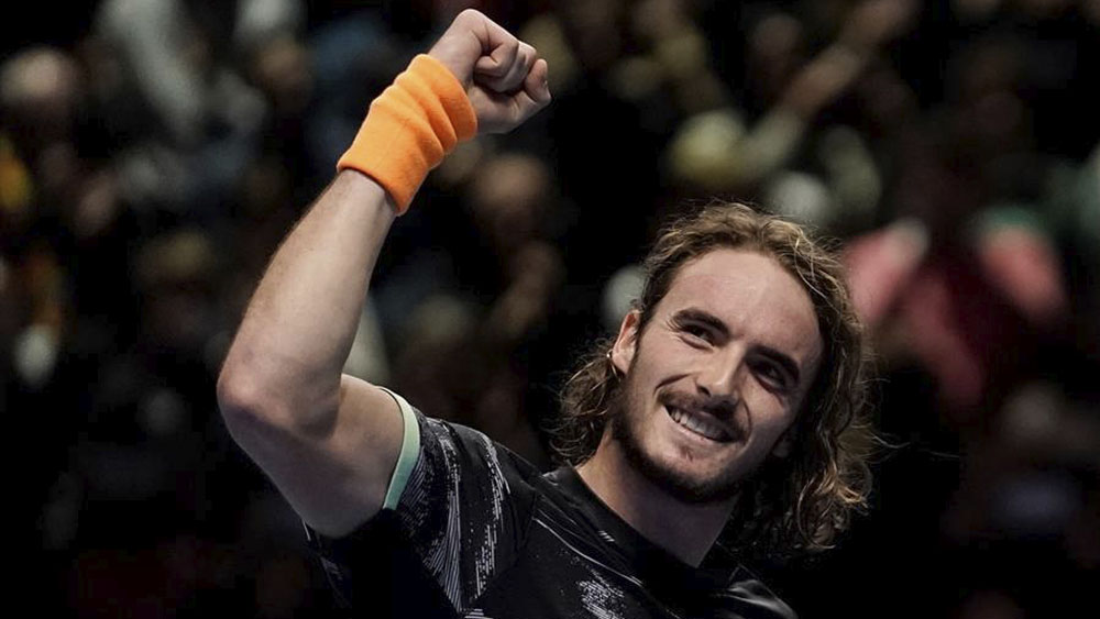 Tsitsipas disputará final del Masters tras vencer a Federer - Stefanos Tsitsipas