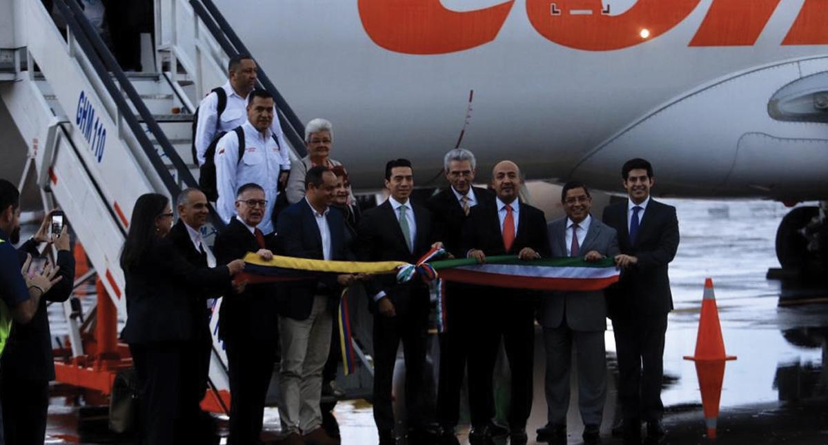 Vuelve ruta aérea a Caracas