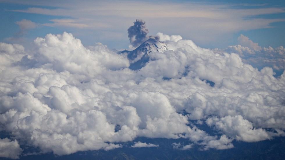 Popocatépetl emite 301 exhalaciones en las últimas 24 horas - Volcán Popocatépetl