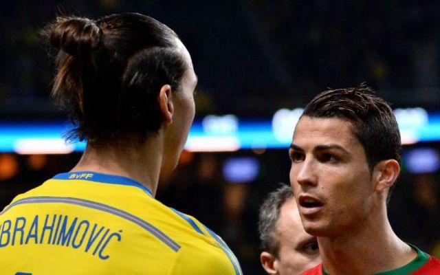El talento de CR7 no es natural y el verdadero Ronaldo es el brasileño: Zlatan - Zlatan y CR7