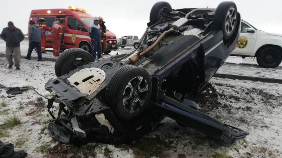 Muere futbolista Juan Pablo Vergara tras accidente en Perú - Foto de @PunoSinFiltro