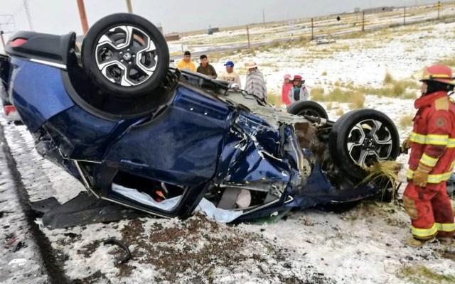 Accidente automovilístico en Perú deja tres futbolistas lesionados - Accidente Perú Binacional