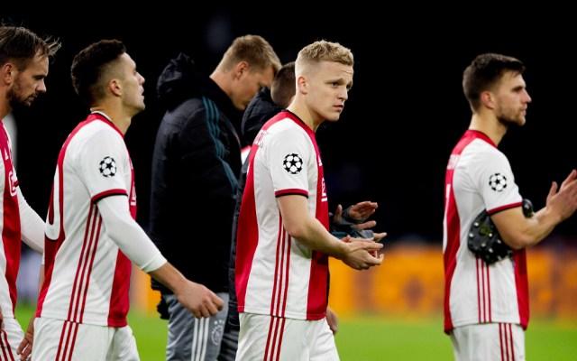 Valencia avanza a octavos y elimina al Ajax de la Champions - Ajax queda eliminado de la Champions