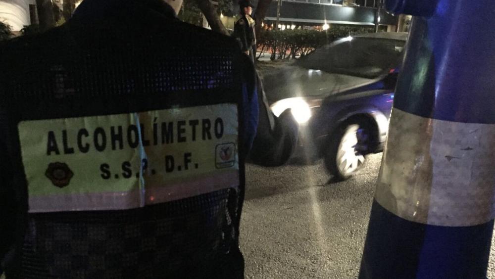 Regresa el programa 'Conduce sin alcohol' en la Ciudad de México - Alcoholimetro