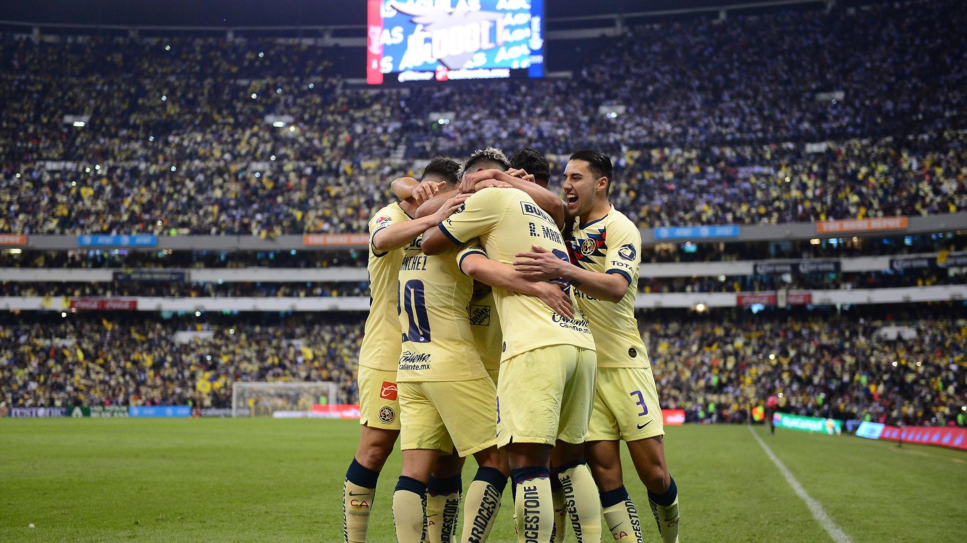 América, finalista del Apertura 2019. Foto de Mexsport.