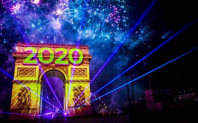 Así celebran en el mundo al Año Nuevo 2020 - Año Nuevo 2020 París Francia
