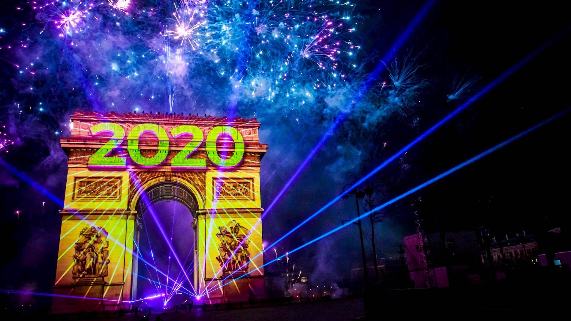 Año Nuevo 2020 París Francia