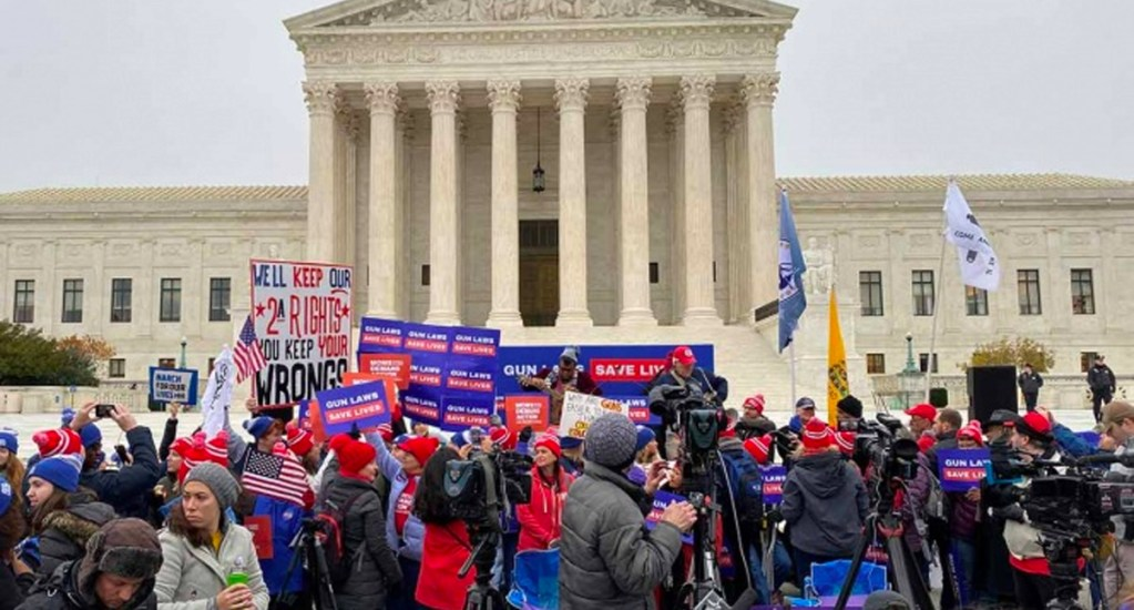 Suprema Corte de Estados Unidos aborda caso de posesión de armas. Noticias en tiempo real