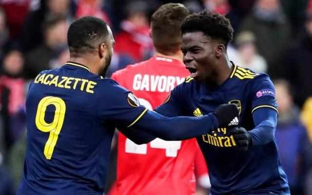 Arsenal avanza en Europa League tras empatar con el Standard Lieja - Foto de EFE